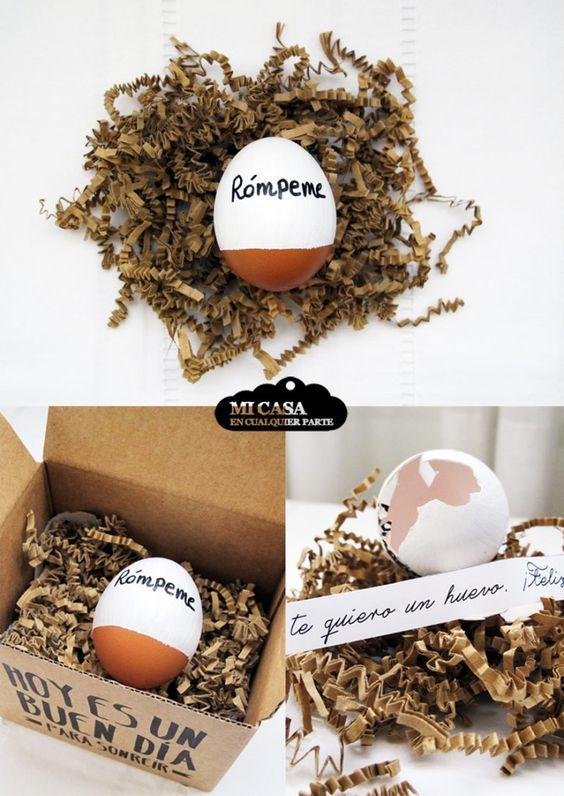 huevo sorpresa regalo