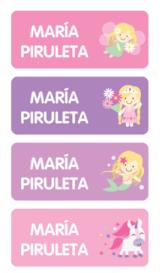 Etiquetas Identificativas - Kids Designer- Etiquetas para el colegio _ Stuck on NIÑA